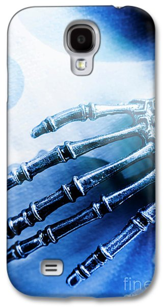 Blue Android Hand Galaxy S4 Case by Jorgo Photography - Wall Art Gallery
