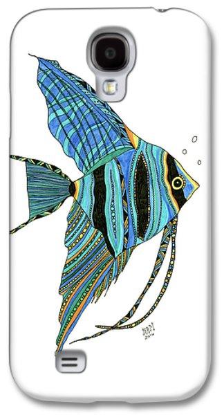 Blue Anglefish Galaxy S4 Case
