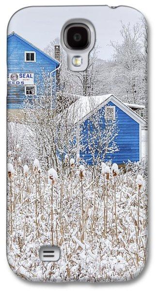 Blue Barns Portrait Galaxy S4 Case