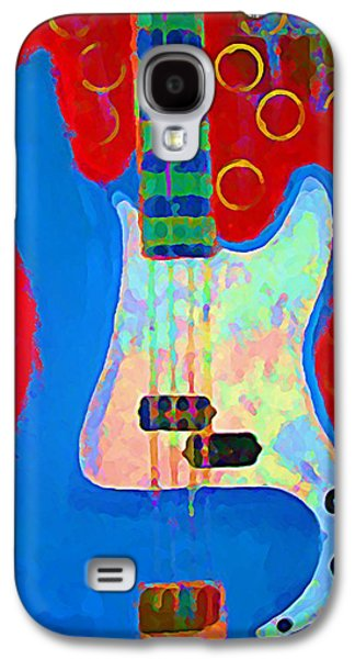 Blue Bass Galaxy S4 Case by Gregory McLaughlin