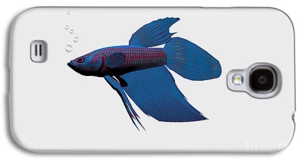 Blue Betta Galaxy S4 Case by Corey Ford