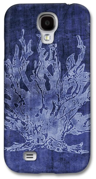 Blue Coral- Art By Linda Woods Galaxy S4 Case