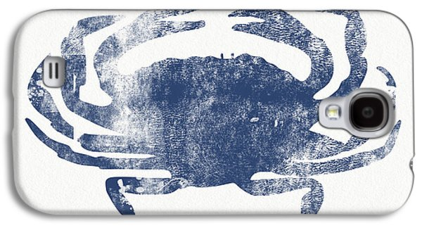 Blue Crab- Art By Linda Woods Galaxy S4 Case by Linda Woods