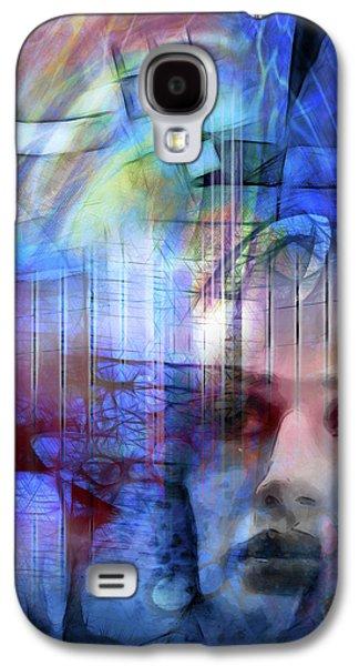 Blue Drama Vision Galaxy S4 Case by Lutz Baar