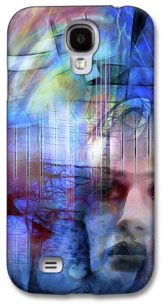 Blue Drama Vision Galaxy S4 Case by Lutz Baar