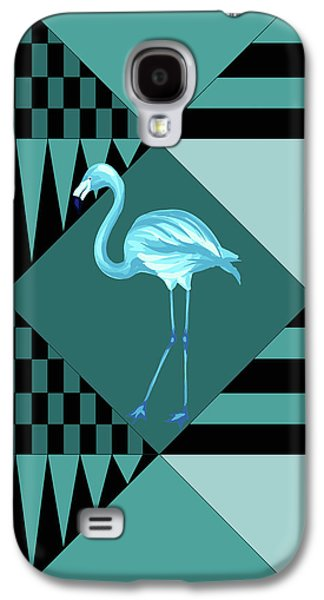 Blue Flamingo Galaxy S4 Case