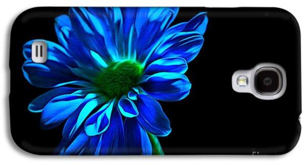 Blue Harmony Galaxy S4 Case by Krissy Katsimbras