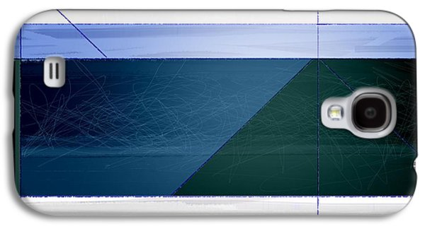 Blue Haze Galaxy S4 Case by Naxart Studio