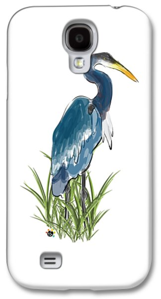 Blue Heron Galaxy S4 Case