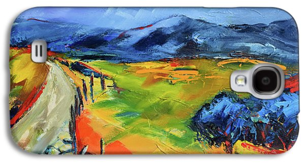 Blue Hills By Elise Palmigiani Galaxy S4 Case by Elise Palmigiani