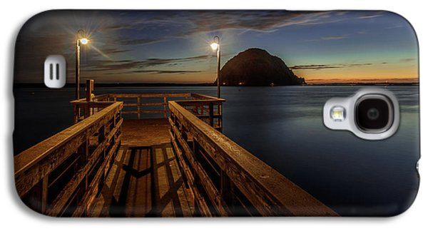 Blue Hour At Morro Bay Galaxy S4 Case