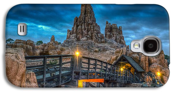 Blue Hour Over Big Thunder Mountain Galaxy S4 Case