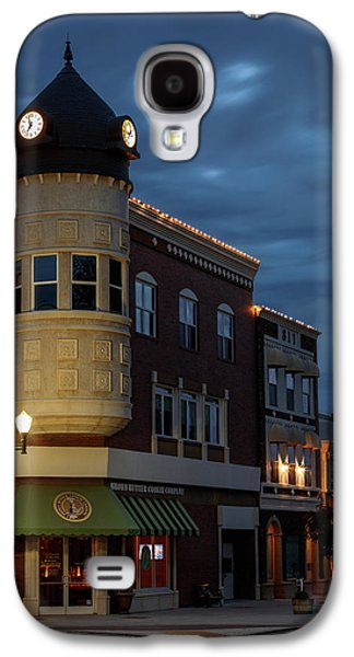 Blue Hour Over The Clock Tower Galaxy S4 Case