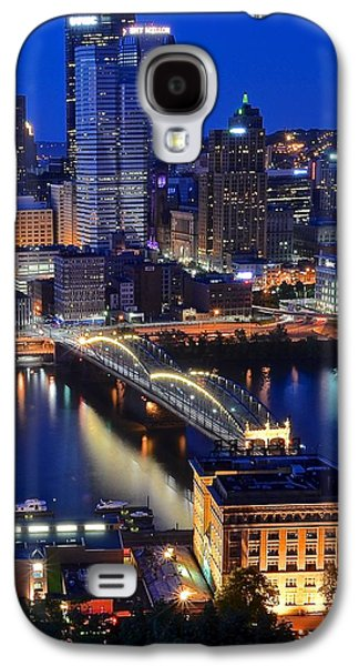 Blue Hour Pittsburgh Galaxy S4 Case