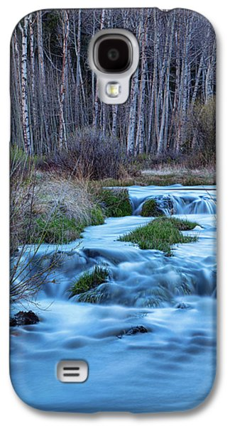 Blue Hour Streaming Galaxy S4 Case by James BO Insogna