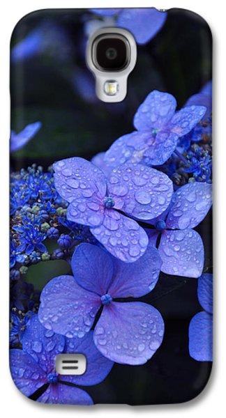 Blue Hydrangea Galaxy S4 Case