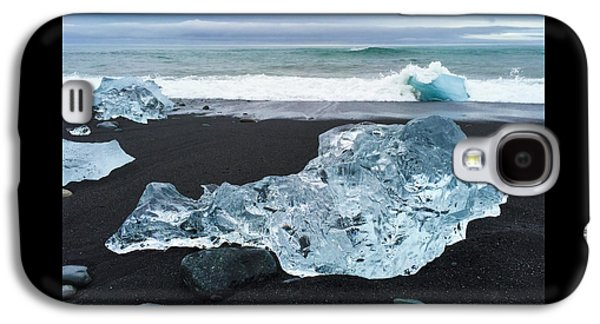 Cool Galaxy S4 Case - Blue Ice In Iceland Jokulsarlon by Matthias Hauser
