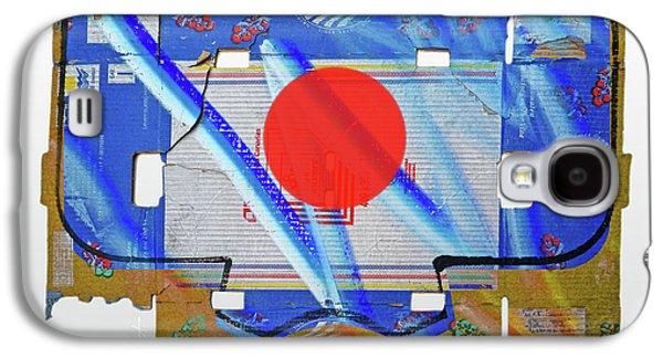Blue Kimono Galaxy S4 Case by Charles Stuart