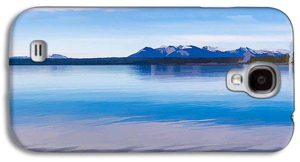 Blue Lake Horizon II Galaxy S4 Case