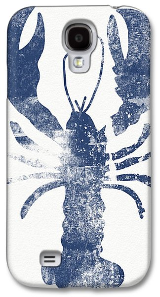 Blue Lobster- Art By Linda Woods Galaxy S4 Case