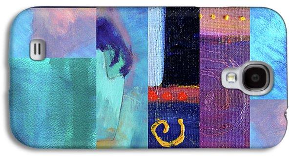 Galaxy S4 Case featuring the digital art Blue Love by Nancy Merkle