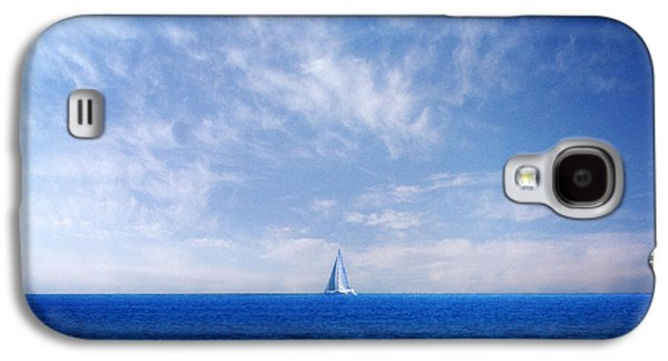 Wind Photographs Galaxy S4 Cases - Blue Mediterranean Galaxy S4 Case by Stylianos Kleanthous