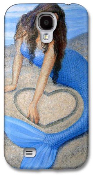 Blue Mermaid's Heart Galaxy S4 Case