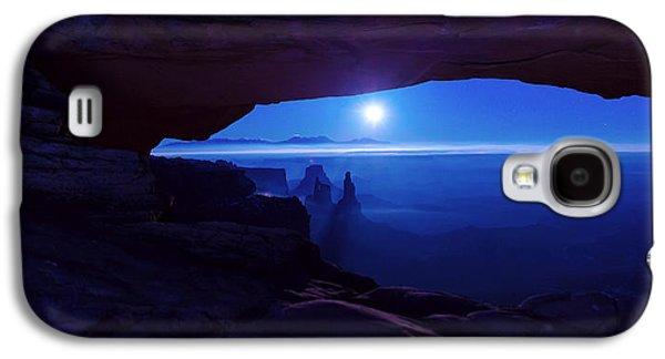 Blue Mesa Arch Galaxy S4 Case by Chad Dutson