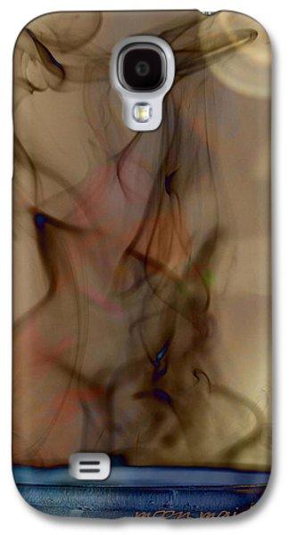 Vicki Ferrari Photography Photographs Galaxy S4 Cases - Blue Moon Maiden Galaxy S4 Case by Vicki Ferrari