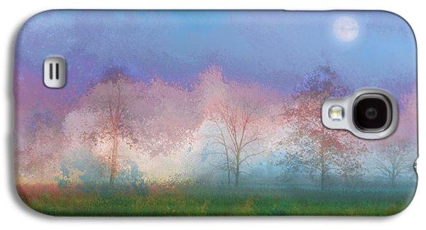 Blue Moon Galaxy S4 Case