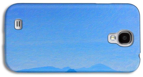 Blue Mountain Galaxy S4 Case by Asar Studios