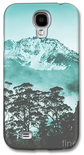 Blue Mountain Winter Landscape Galaxy S4 Case by Jorgo Photography - Wall Art Gallery