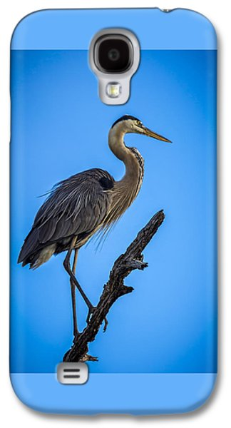 Blue On Blue Galaxy S4 Case by Marvin Spates