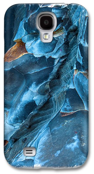Blue Pattern 1 Galaxy S4 Case