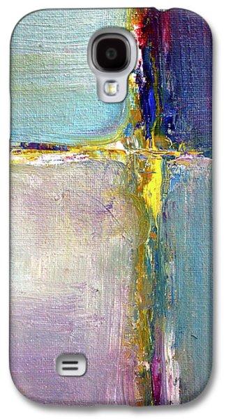 Blue Quarters Galaxy S4 Case by Nancy Merkle