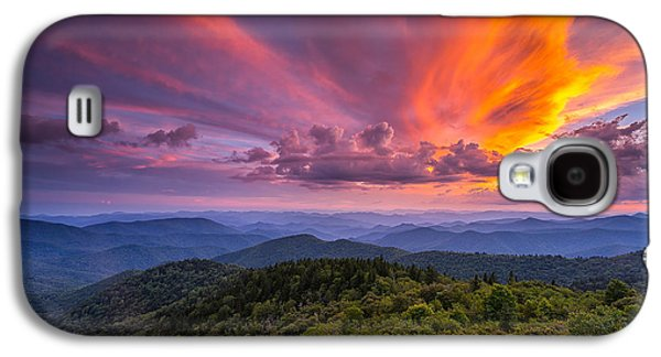 Blue Ridge Parkway - Summer Wages Galaxy S4 Case