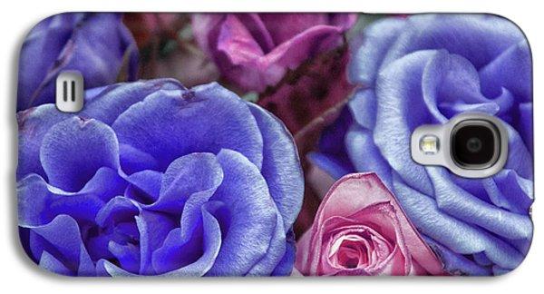 Blue Rose Galaxy S4 Case