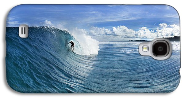 Blue Sling Galaxy S4 Case by Sean Davey