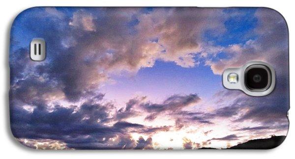 Blue Sunset Galaxy S4 Case