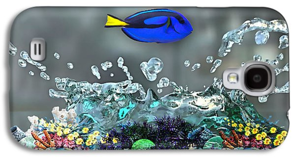 Blue Tang Collection Galaxy S4 Case by Marvin Blaine