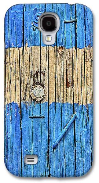 Blue Telephone Pole Galaxy S4 Case by Garry Gay