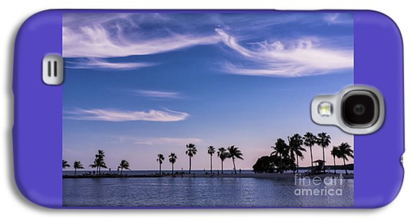 Blue Tropics Galaxy S4 Case