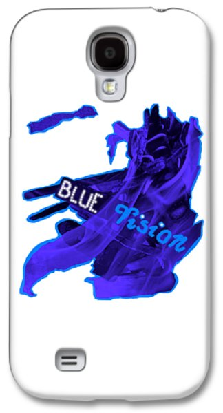 Galaxy S4 Case - Blue Vision by Orphelia Aristal