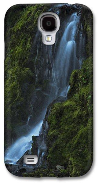Blue Waterfall Galaxy S4 Case