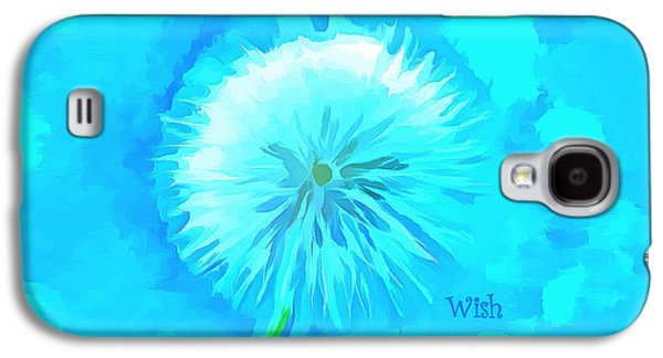 Blue Wishes Galaxy S4 Case
