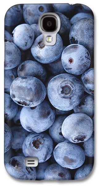 Blueberries Foodie Phone Case Galaxy S4 Case by Edward Fielding