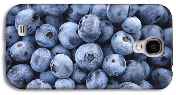 Blueberries Galaxy S4 Case by Happy Home Artistry