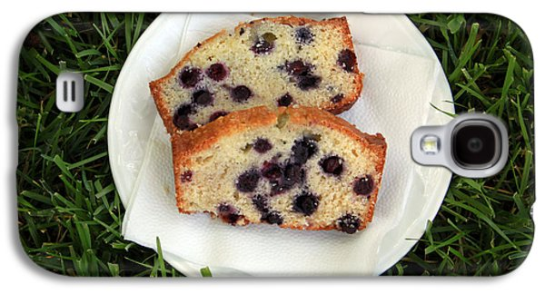 Blueberry Bread Galaxy S4 Case by Linda Woods