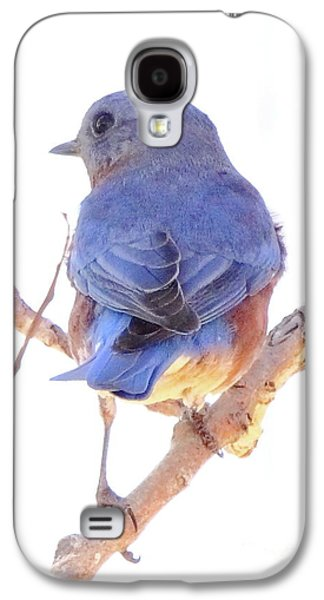 Bluebird On White Galaxy S4 Case