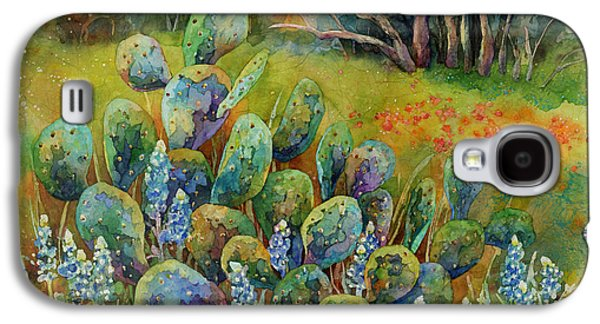 Bluebonnets And Cactus Galaxy S4 Case